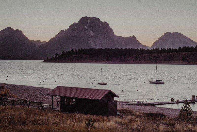 Jackson Lake Grand Teton National Park - 1