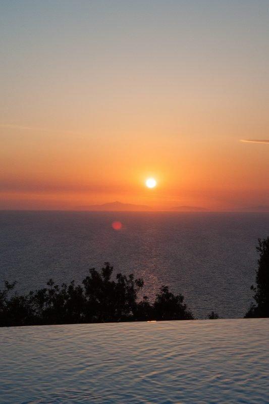 Hotel Cala Piccola tramonto