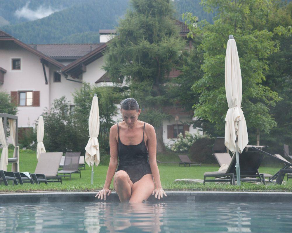 Hotel Rubner piscina
