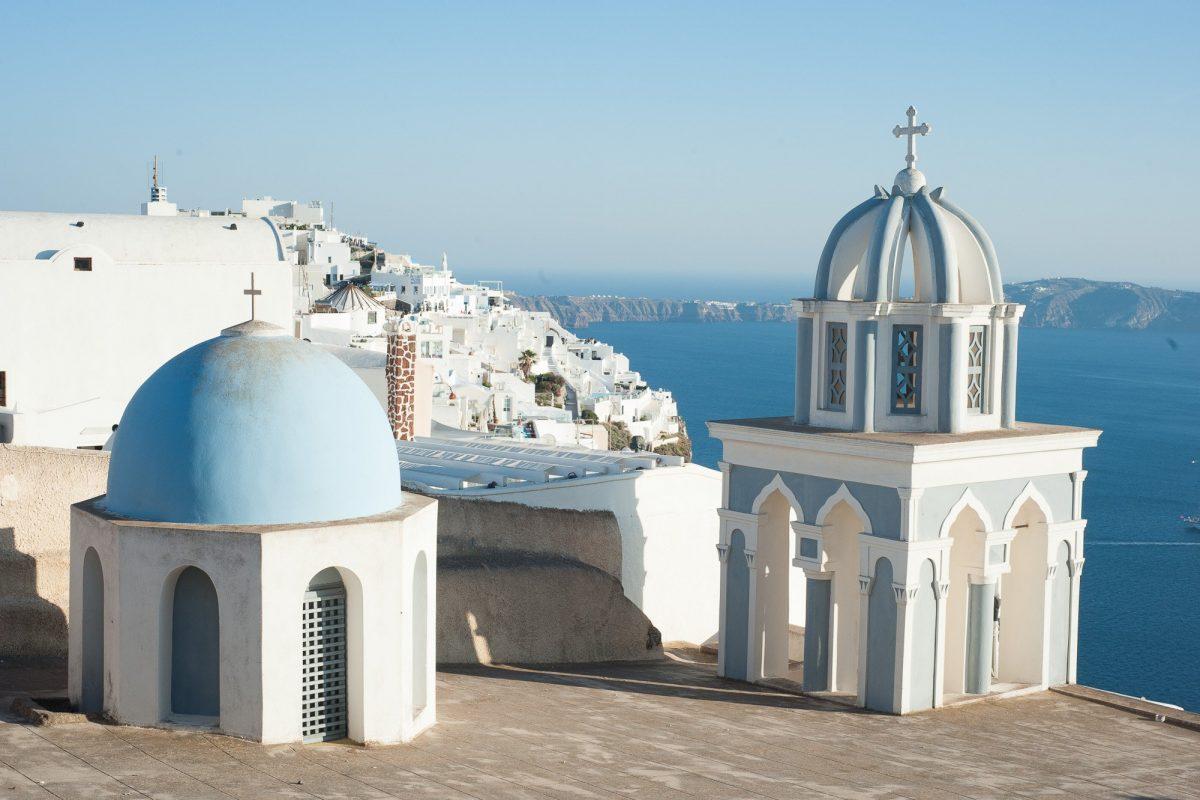 Santorini chiesa