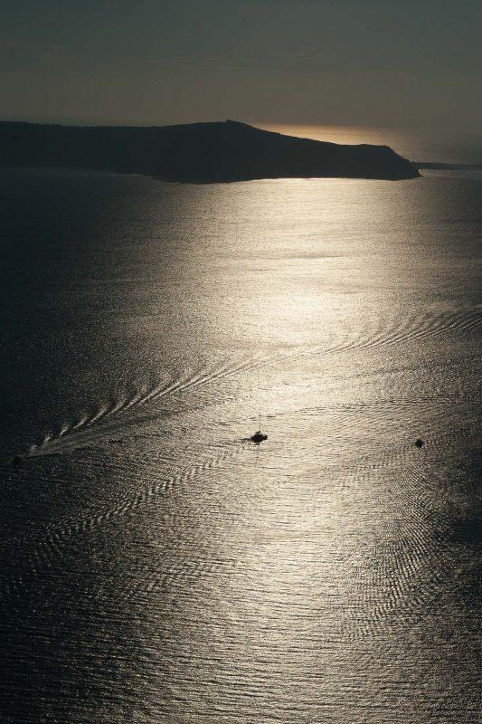 Santorini passeggiata fino ad Oia