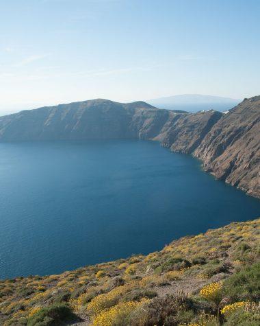 Santorini la Caldera