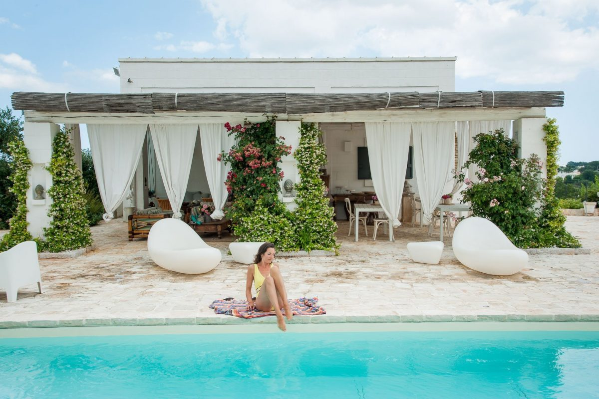 Tenuta del Lauro Missoni piscina