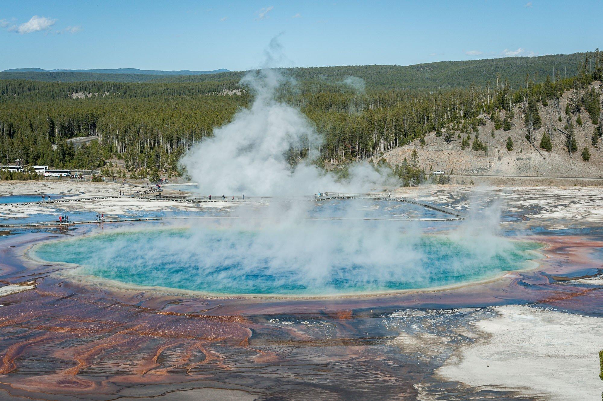 Yellowstone Grand Prismatic Spring