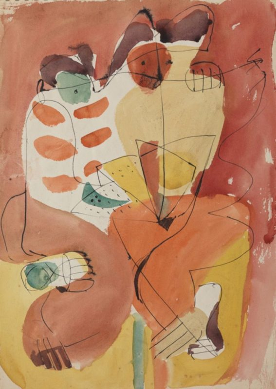 Nivola dipinti